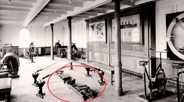 Rudergerät auf der Titanic