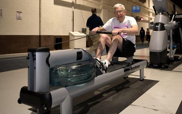 Rudergerät für Senioren