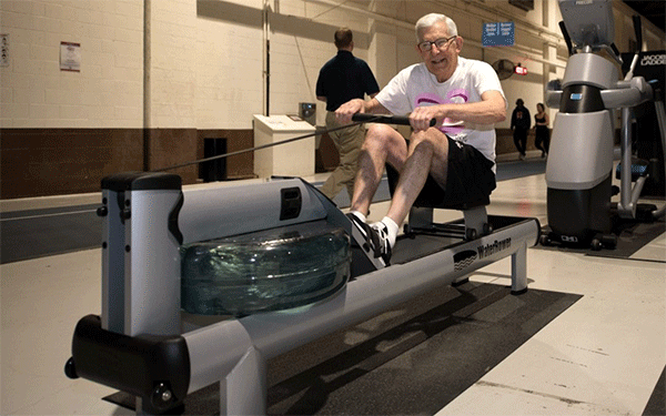 rowing machines for senior people