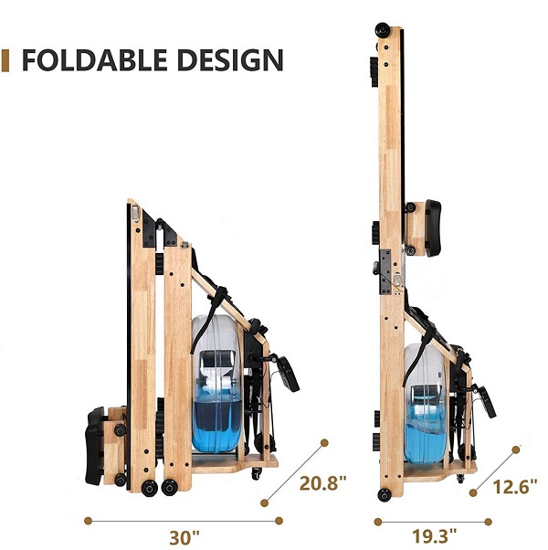 foldable rowing machine