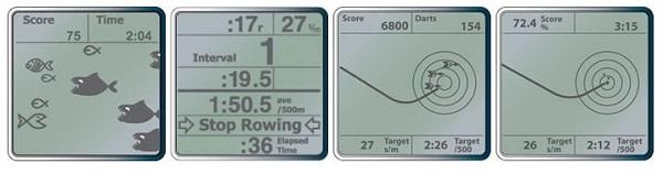 rowing machine monitor gaming