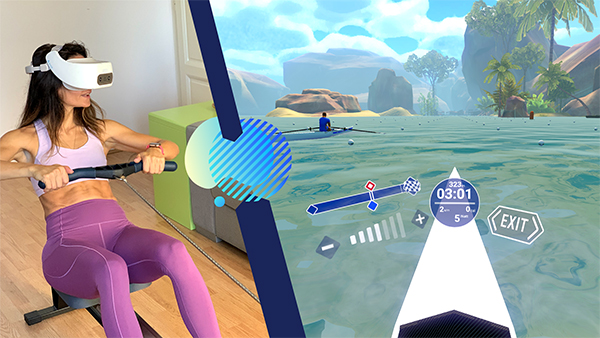 lots of fun VR rowing machine benefits