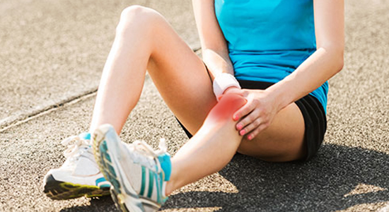 how to avoid knee pain while rowing
