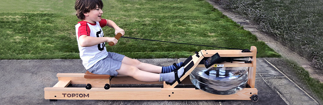 Rowing is good for people of all ages and fitness levels to try